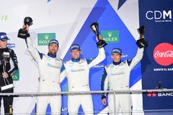 LM GTE Am tercer lugar Christian Ried, Wolf Henzler, Joël Camathias, KCMG