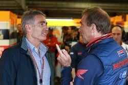 Mick Doohan et Livio Suppo, directeur Repsol Honda Team