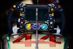 Volante de Lewis Hamilton, Mercedes AMG F1