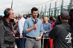 Steve Jones, Channel 4, F1 Moderator