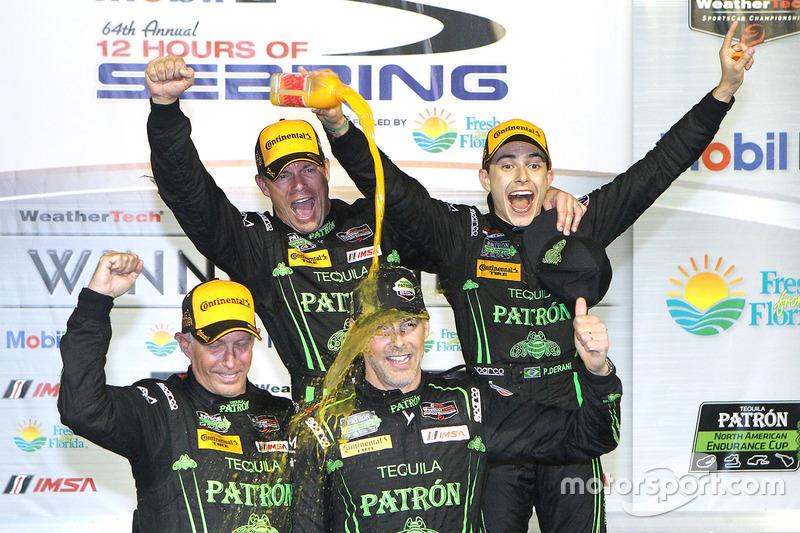 #5: Johannes van Overbeek, Scott Sharp, Ed Brown und Pipo Derani (ESM Racing)