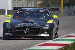 #41 HTP Motorsport GmbH, Mercedes SLS AMG GT3: Wim de Pundert, Brice Bosi, Indy Dontje, Jazeman Jaaf
