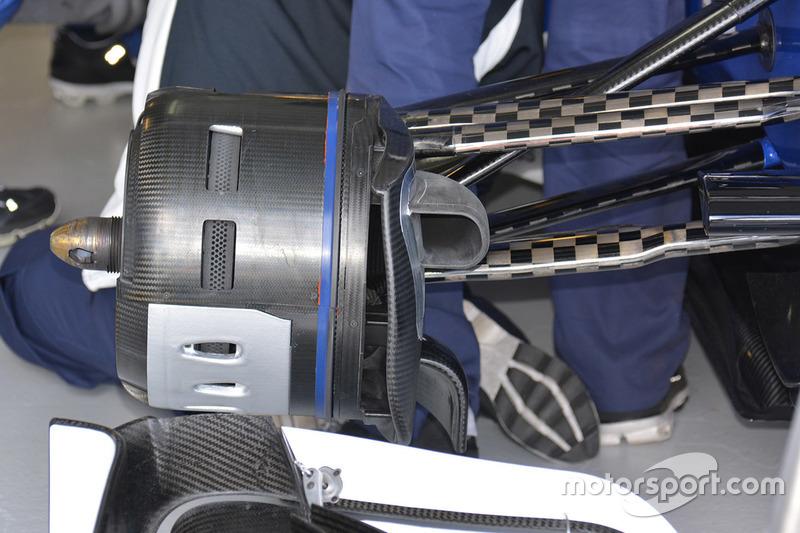 Frontflügel, Mercedes AMG F1 Team W07