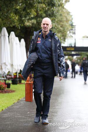 Adrian Newey, directeur technique de Red Bull Racing