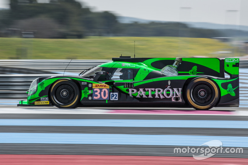 #30 Extreme Speed Motorsports, Ligier JS P2 - Nissan: Scott Sharp, Ed Brown, Johannes van Overbeek