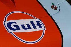 #86 Gulf Racing Porsche 911 RSR: Michael Wainwright, Adam Carroll, Benjamin Barker, detay