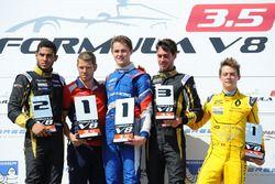 Podyum: 1. Egor Orudzhev, Arden Motorsport, 2. Roy Nissany, Lotus, 3. Rene Binder, Lotus