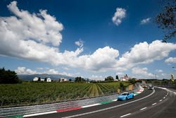 Robert Dahlgren, Polestar Cyan Racing, Volvo S60 Polestar TC1; Thed Björk, Polestar Cyan Racing, Vol