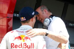 Edoardo Mortara, Audi Sport Team Abt Sportsline, Audi RS 5 DTM and Dr. Wolfgang Ullrich,, Audi's Head of Sport
