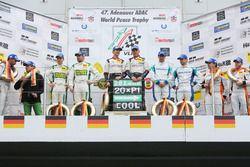 Podium: 2. #75 Zakspeed, Mercedes AMG-GT3: Sebastian Asch, Kenneth Heyer; Sieger #28 Land Motorsport