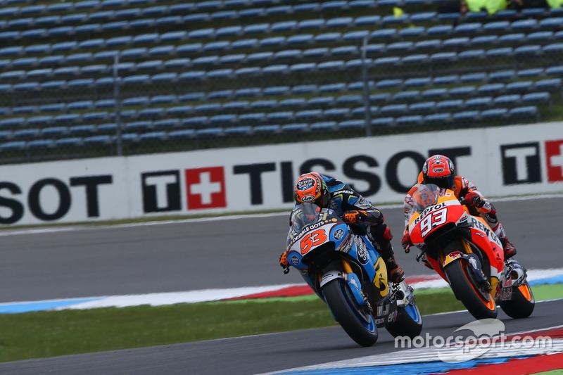 Tito Rabat, Marc VDS Racing, Honda, und Marc Marquez, Repsol Honda Team