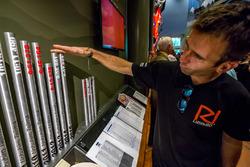 Romain Dumas inspección de resultados del año anterior
