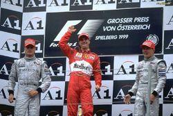 Hakkinen-Coulthard-Irvine