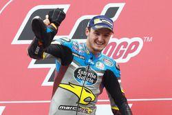 Podio: il vincitore della gara Jack Miller, Marc VDS Racing Honda