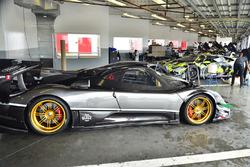 Pagan Zonda Revolucion of Powersport Racing, #56 MP1A Lamborghini Hurracan ST driven by Jose Collado