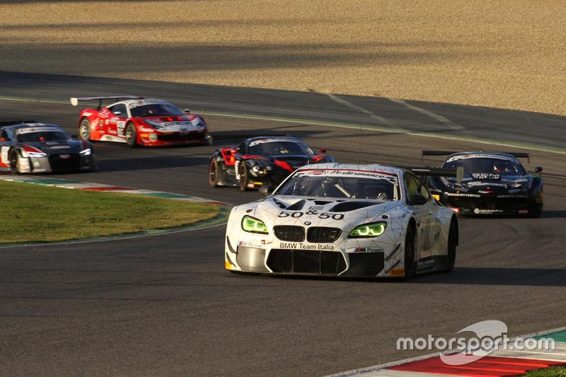 #50 BMW Team Italia BMW M6 GT3: Alex Zanardi