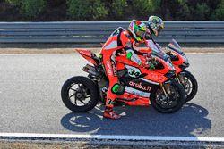 Davide Giugliano, Ducati Team, Chaz Davies, Ducati Team