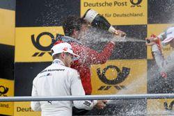 Podio: segundo lugar Marco Wittmann, BMW Team RMG, BMW M4 DTM