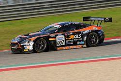 Aston Martin Vantage GT3 #7, Sini-Mugelli, Solaris Motorsport
