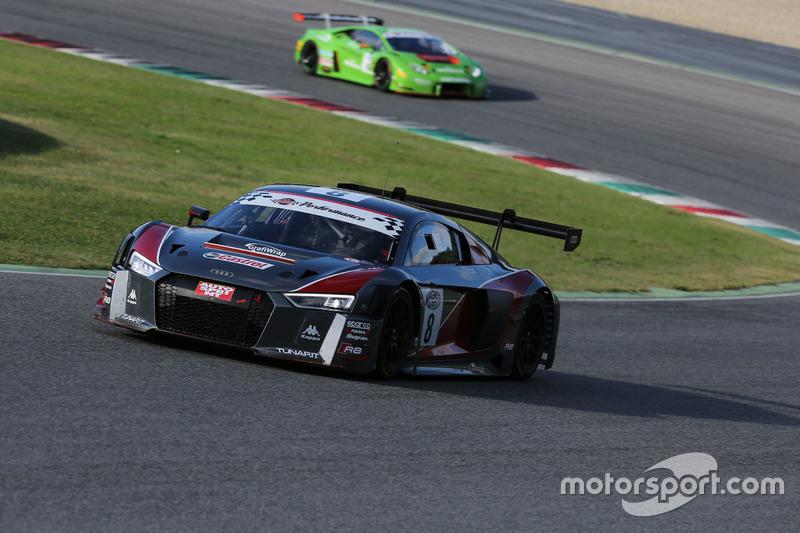 #8 Audi R8 LMS-GT3, Audi Sport Italia: Mapelli-Vanthoor