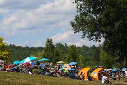 Fans at Lime Rock Park