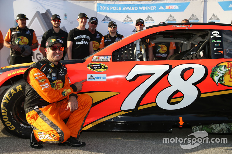 Kansas City: Martin Truex Jr. (Furniture-Row-Toyota)