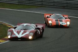 #99 Lola T70 MK3B (1971): Paul Gibson, Chris Ward