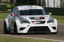 Daniele Cappellari, Team Bassano, Seat Leon Racer-TCR