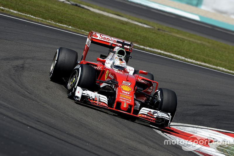 5: Себастьян Феттель, Ferrari SF16-H