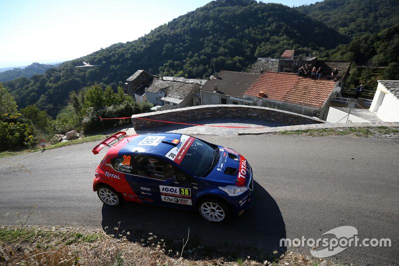 Jose A. Suarez Miranda, Candido C. Estevez, Peugeot 208T16, Peugeot Rally Academy