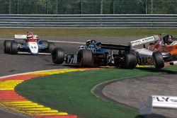 Crash: #34 Tyrrell 010 (1980): Mike Cantillon; #31 Arrows A4 (1982): Steve Hartley