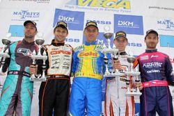 DSKM Sieger Rennen 2: Davide Fore; Jorrit Pex; Daniel Stell; Gary Carlton; Patrik Hajek