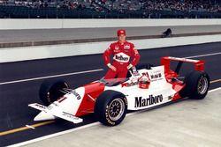 Le vainqueur Al Unser Jr., Penske/Mercedes