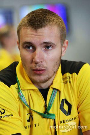 Sergey Sirotkin, pilote d'essais Renault Sport F1 Team