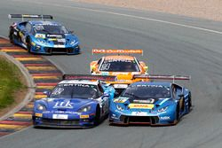 #13 RWT Racing, Corvette Z06.R GT3: Remo Lips, Sven Barth; #67 Attempto Racing Team, Lamborghini Hur