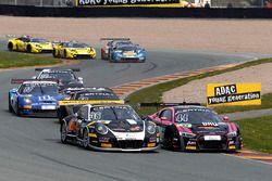 #36 bigFM Racing Team Schütz Motorsport, Porsche 911 GT3 R: Marvin Dienst, Christopher Zanella; #44