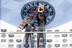 Podium: Sieger #10 Wayne Taylor Racing, Corvette DP: Ricky Taylor, Jordan Taylor