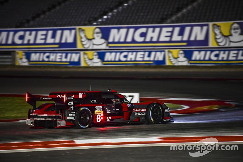 2. LMP1: #8 Audi R18: Lucas di Grassi, Loic Duval, Oliver Jarvis