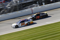 Reed Sorenson, Premium Motorsports Chevrolet, Martin Truex Jr., Furniture Row Racing Toyota