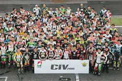 Foto di gruppo dei piloti CIV 2016