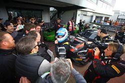 Race winners #84 HTP Motorsport, Mercedes-AMG GT3: Maximilian Buhk, Dominik Baumann, Jazeman Jaafar