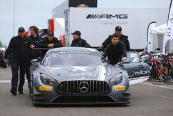 #18 Black Falcon Mercedes Benz-AMG GT3: Hubert Haupt, Adam Christodoulou, Andreas Simonsen