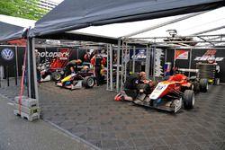 Team Motopark, tent, Dallara F312 – Volkswagen,