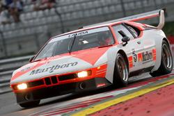 Niki Lauda lors de la course des légendes de BMW M1 Procar