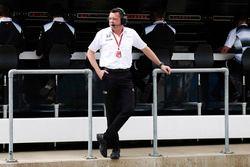 Eric Boullier, directeur de la compétition McLaren