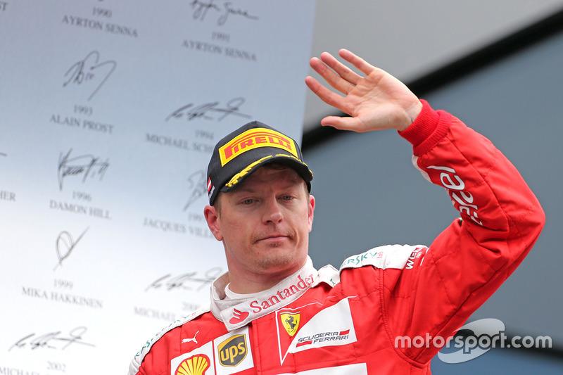 #6: Kimi Räikkönen (Finnland) mit 1.255 Punkten