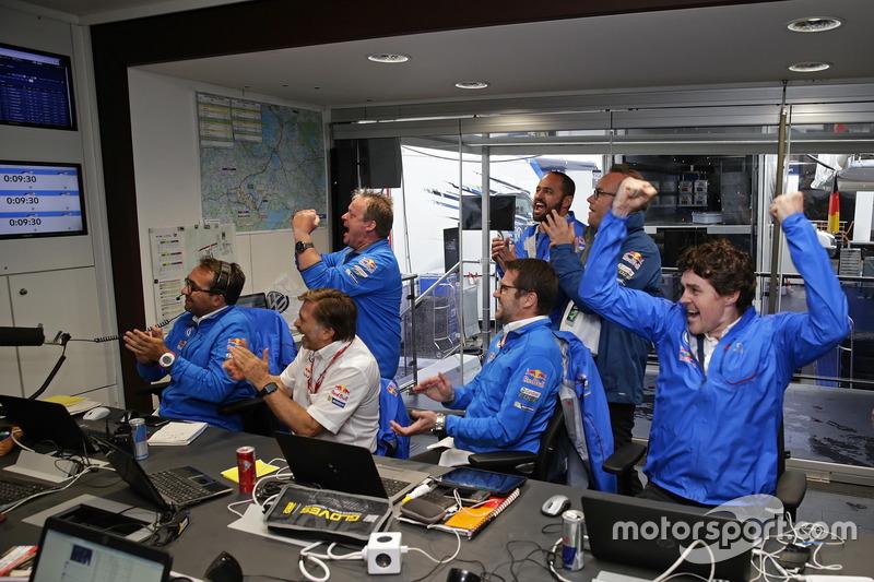 Sven Smeets, Jost Capito, Francois-Xavier Demaison, Jan-Gerard de Jongh, Richard Browne, Volkswagen Motorsport
