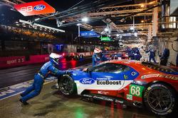 #68 Ford Chip Ganassi Racing Ford GT: Джої Хенд, Дірк Мюллер, Себастьян Бурде