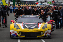 Экипаж #50 Larbre Competition Chevrolet Corvette C7-R