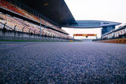 Start/Ziel-Gerade des Shanghai International Circuit